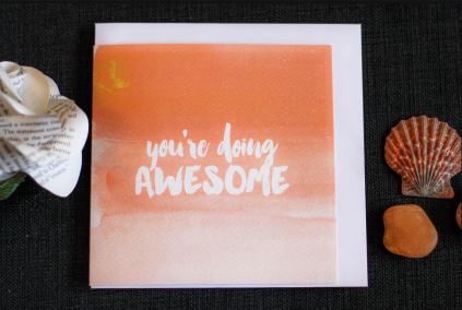 Shop - Card - You're Doing Awesome